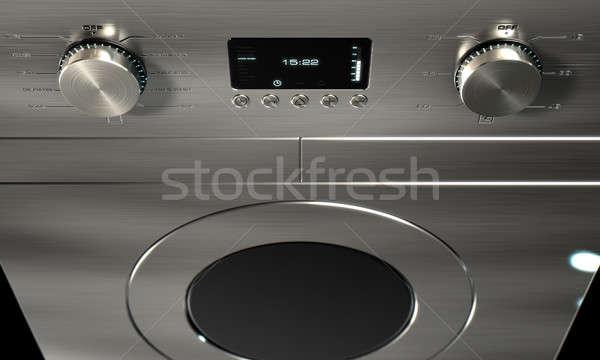 Modern Washing Machine Closeups Stock photo © albund