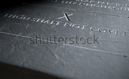 Chessboard Dark Stock photo © albund