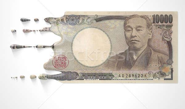 Japonês yen imagem Foto stock © albund