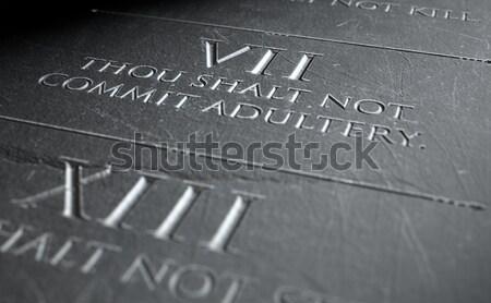 Stali władcy 3d widoku Zdjęcia stock © albund