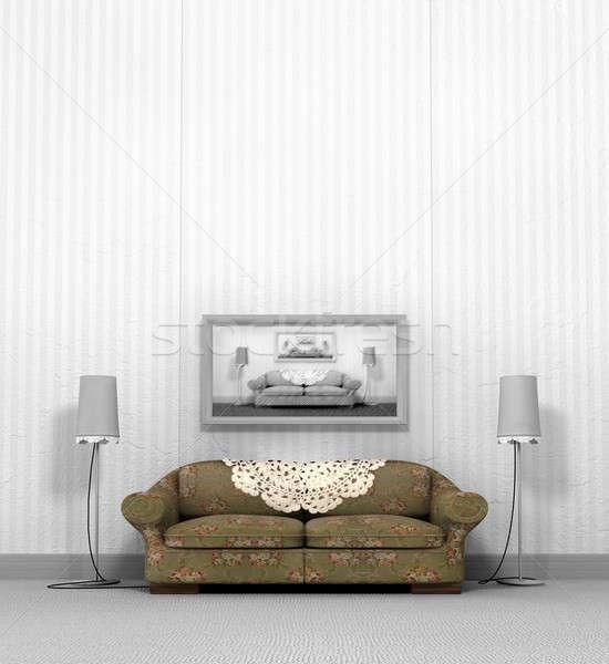 Grandma's Old Sofa Stock photo © albund