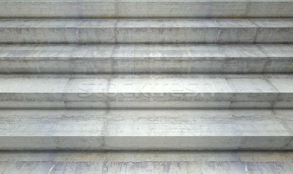 Concrete Steps Stock photo © albund