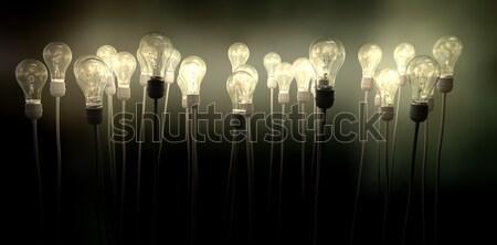 Lichten collectie regelmatig tl samen Stockfoto © albund