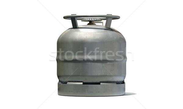 ガス ボトル 金属 アタッチメント ストーブ ストックフォト © albund