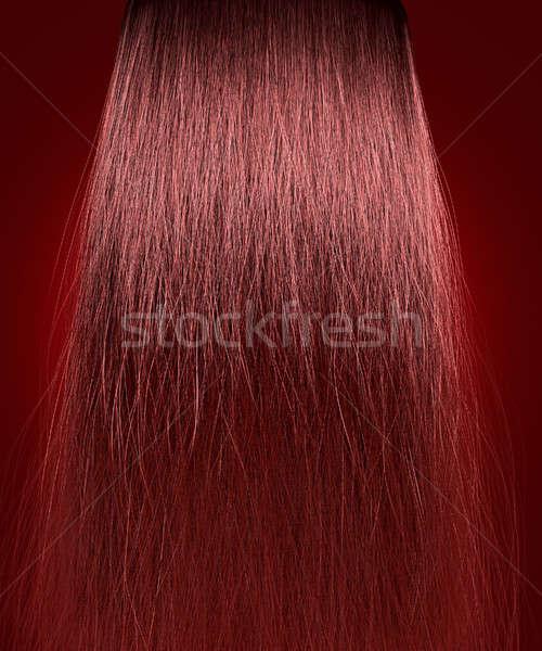 Red Hair Frizzy Stock photo © albund