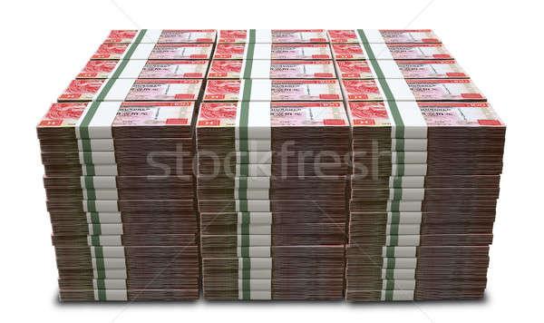 Hong Kong Dollar Notes Bundles Stack Stock photo © albund