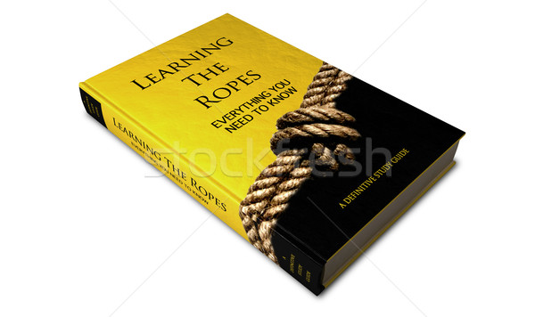 Learning The Ropes Study Guide Stock photo © albund