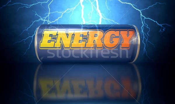 Energy Drink Can Stock photo © albund