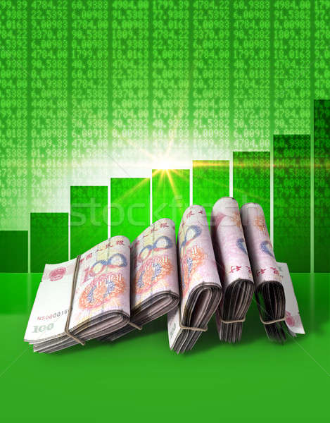 Positive Market Money Stock photo © albund