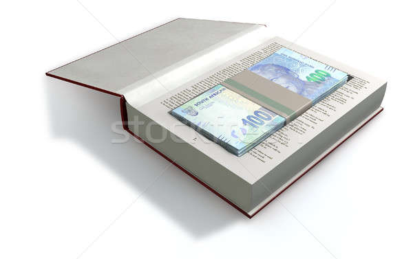 Concealed Rand In A Book Front Stock photo © albund