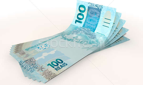 Real Bank Notes Spread Stock photo © albund