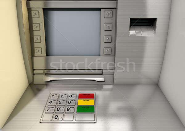 Atm Facade Closeup  Stock photo © albund