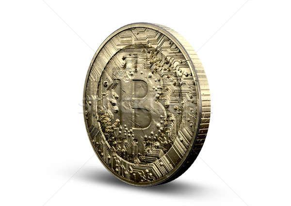 Bitcoin Physical Stock photo © albund
