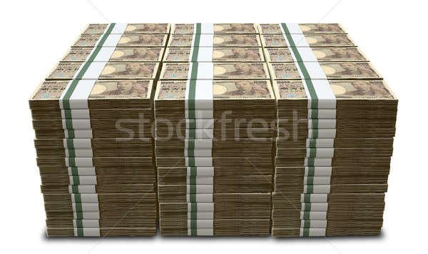 Yen Notes Pile Stock photo © albund
