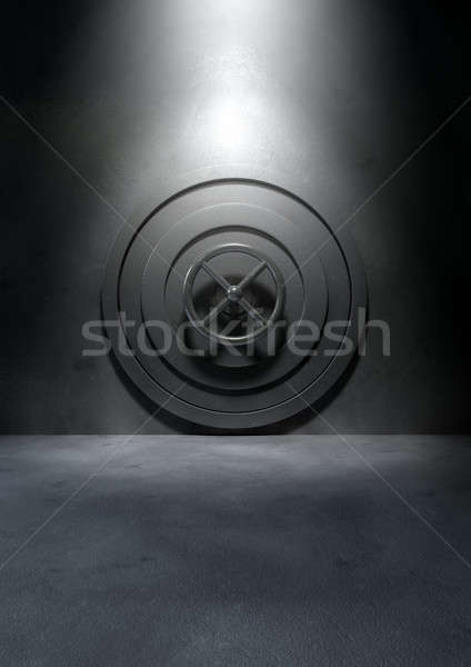 Bank Vault Concrete Room Stock photo © albund