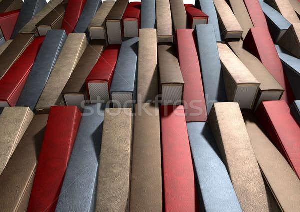 Generic Unbranded Leather Book Texture Stock photo © albund