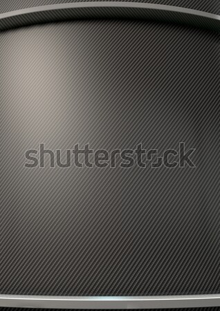 Stockfoto: Koolstof · vezel · chroom · abstract