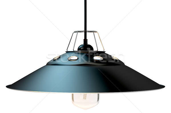 Retro Light Fitting Stock photo © albund