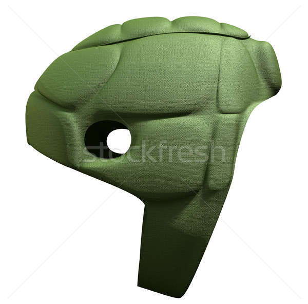Green Scrum Cap Side Stock photo © albund