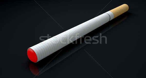 Elettronica sigaretta isolato regolare Foto d'archivio © albund