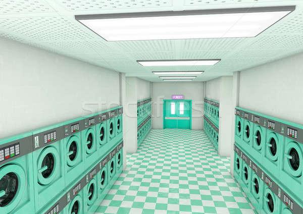 Laundromat Clean Stock photo © albund