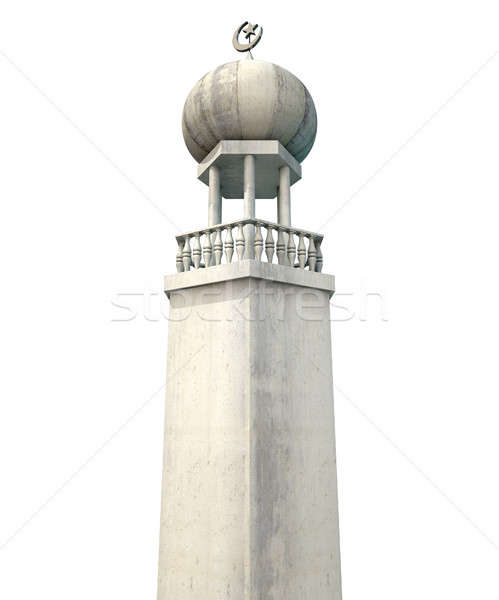 Islamic Minaret Stock photo © albund