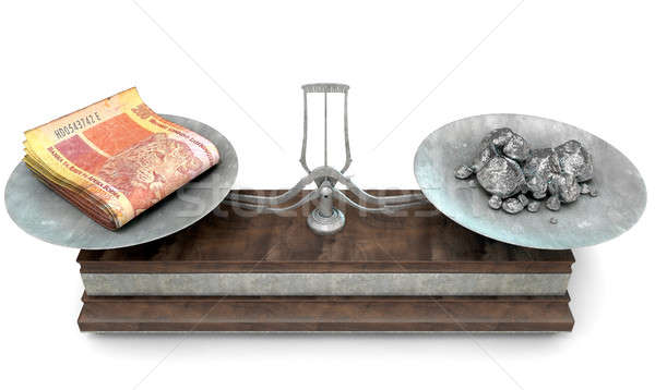 Balance Scale Comparison Stock photo © albund