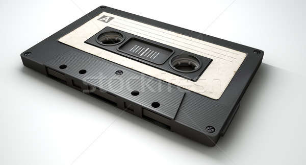 Audio Cassette Tape Stock photo © albund