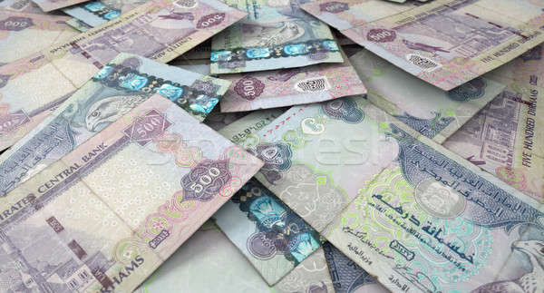 Scattered Banknote Pile Stock photo © albund