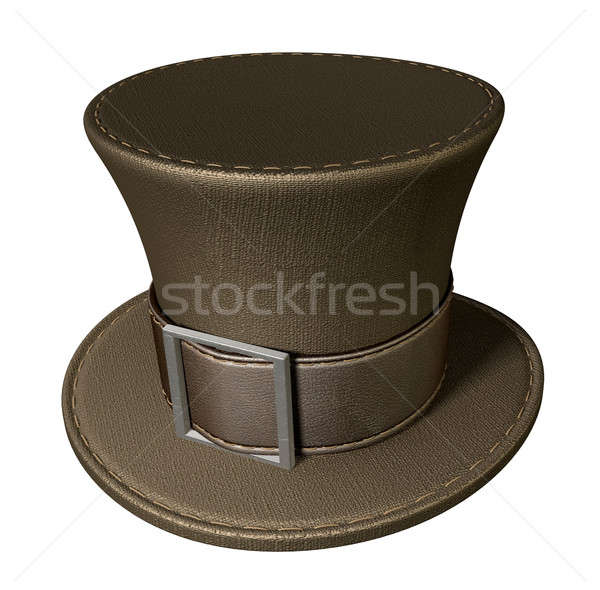 Mad Hatters Top Hat Perspective Stock photo © albund