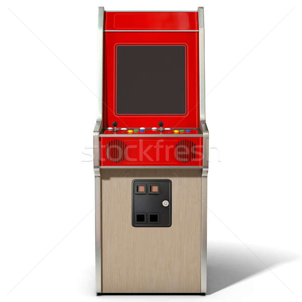 Vintage Arcade MAchine Stock photo © albund