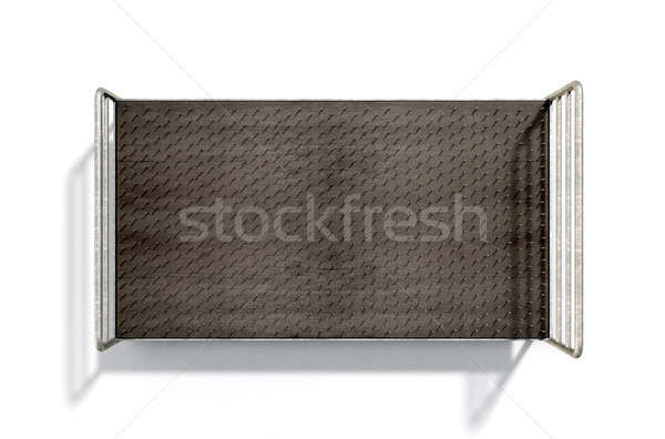 Bed Of Nails Isolated Stock photo © albund