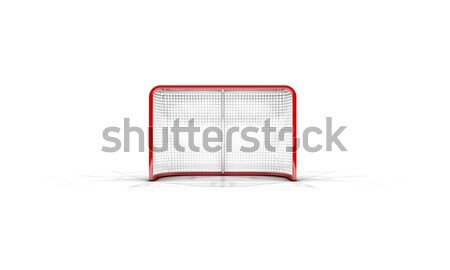 Ice Hockey Goals Stock photo © albund
