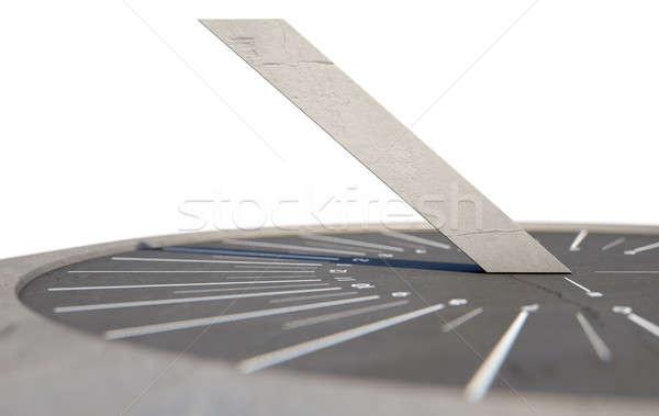 Modern Sundial Stock photo © albund