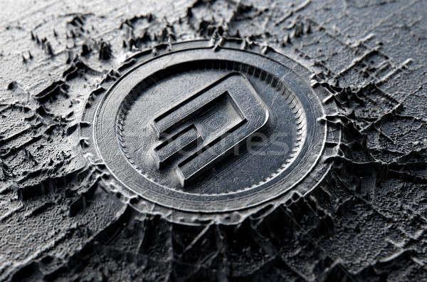 Cryptocurrency Casting Dash Stock photo © albund