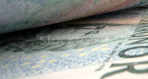 Separated Banknotes Close-up Detail Stock photo © albund