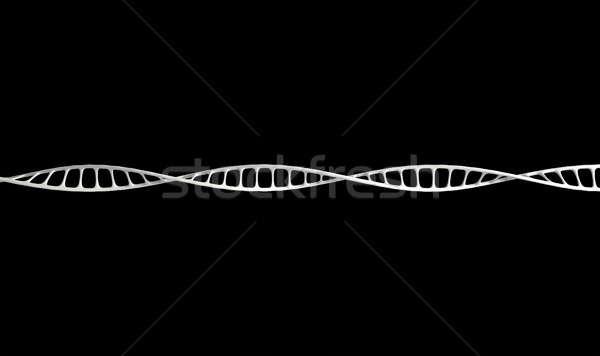 DNA mikro mikroskobik görmek stil genel Stok fotoğraf © albund