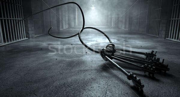 刑務所 ブレーク キー 刑務所 セル 画像 ストックフォト © albund