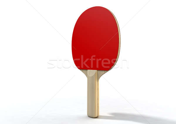 Table Tennis Paddle Stock photo © albund