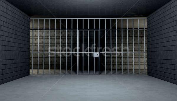 Vazio cela olhando fora ver dentro Foto stock © albund