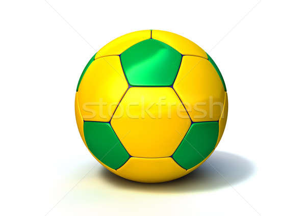 Brazilian Soccer Ball Stock photo © albund