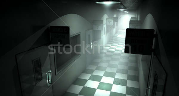Stock photo: Mental Asylum Haunted
