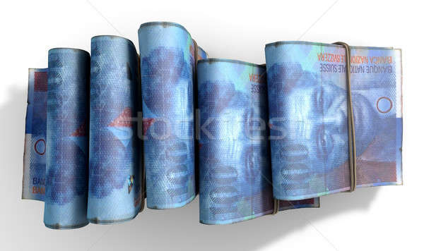 Wads Of Notes Pile Light Stock photo © albund