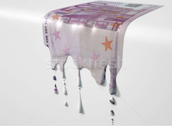 Euros image Photo stock © albund