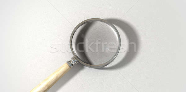 Magnifying Glass Textured Surface Stock photo © albund