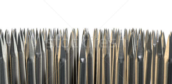 Nails Array Abstract Macro Stock photo © albund