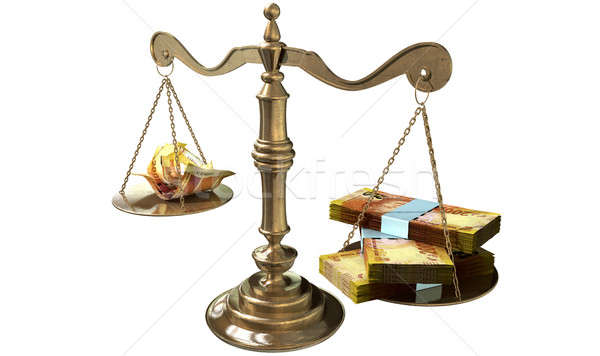 Inequality Scales Of Justice Income Gap South Africa Stock photo © albund