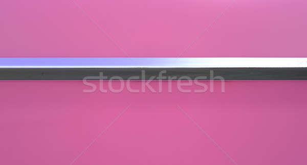 Pink Car And Chrome Trim Stock photo © albund