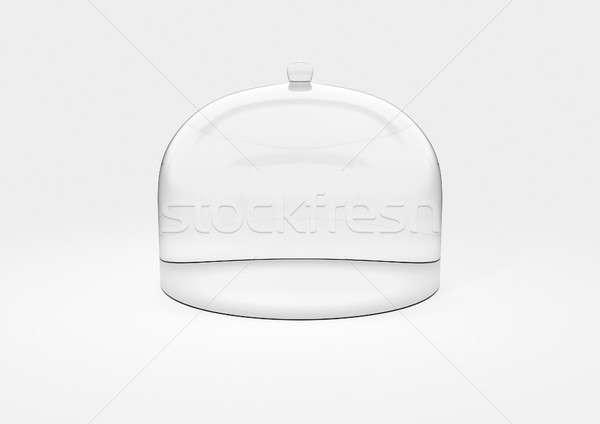 ガラス ドーム 表示 場合 空っぽ ストックフォト © albund