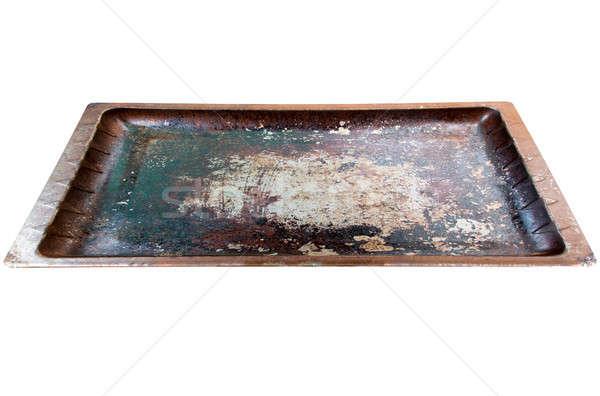 Used Baking Tray Stock photo © albund